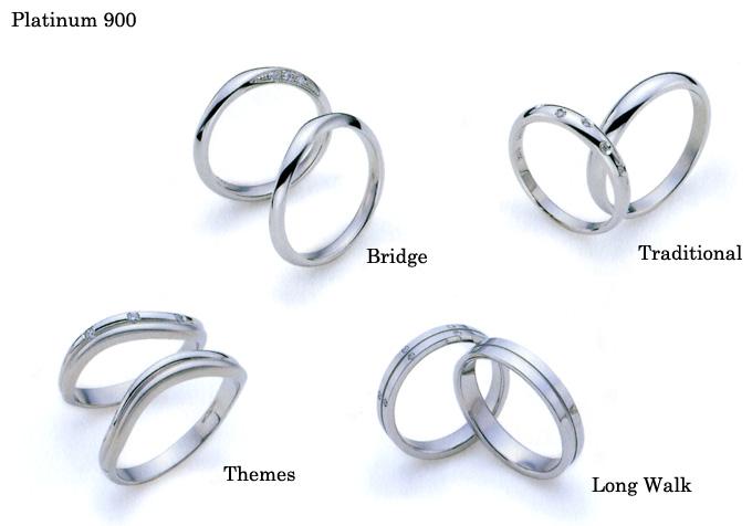 結婚指輪 マリッジリング 《ダックス・プラチナ900 (DAKS Marriage Pair Ring; Platinum 900 )》 英国老舗ブランド
